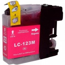 Cart.Compativel Brother LC123 Magenta