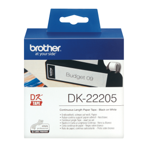 Papel ROLO COMPATIVEL BROTHER DK-22205